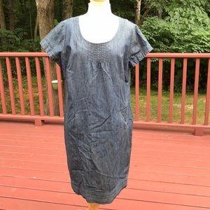 Boden 14L vintage denim S/S dress
